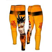 Formma Saiyan Compression Pants Naranja