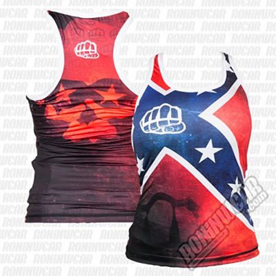 Formma Tank Top Rebel Girl Rouge-Bleu