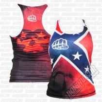 Formma Tank Top Rebel Girl Rot-Blau