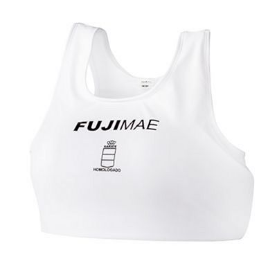 FUJIMAE Advantage Breast Protector RFEK White