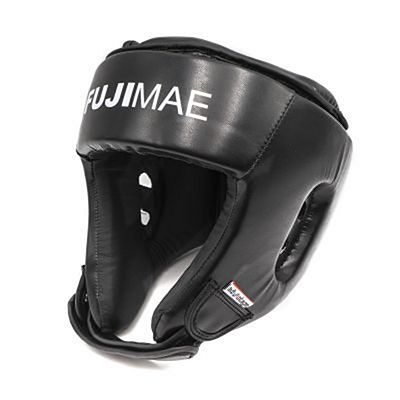 FUJIMAE Advantage Flexskin Open Head Guard Black