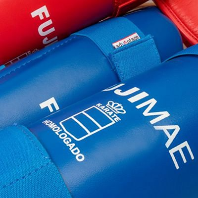 FUJIMAE Advantage Removable Shin Instep Guards Blue