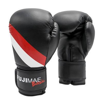 FUJIMAE Basic Boxing Gloves Black