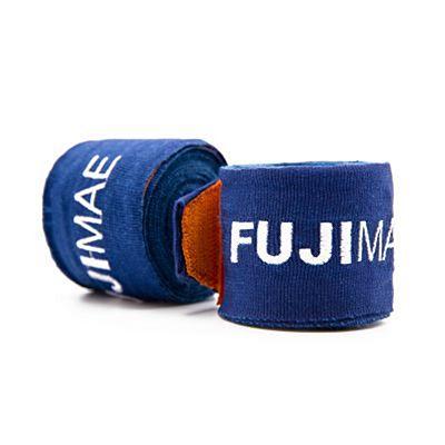 FUJIMAE Colors Hand Wraps 250cm Tummansininen-Oranssi