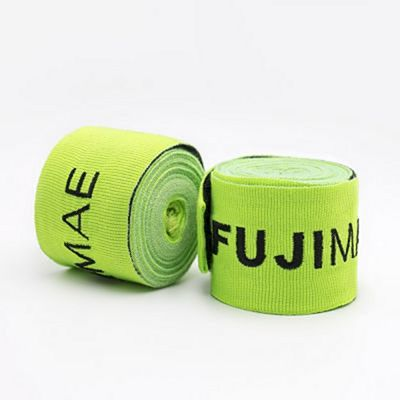 FUJIMAE Colors Hand Wraps 450cm Green