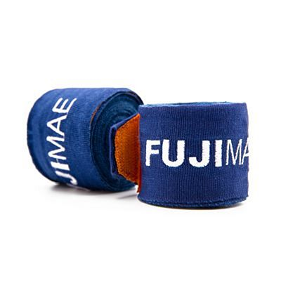 FUJIMAE Colors Hand Wraps 450cm Navy Blue-Orange