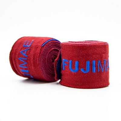 FUJIMAE Colors Hand Wraps 450cm Red-Blue
