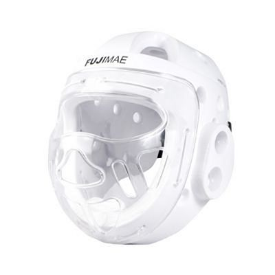 FUJIMAE Hyperfoam Head Guard With Mask RFEK White