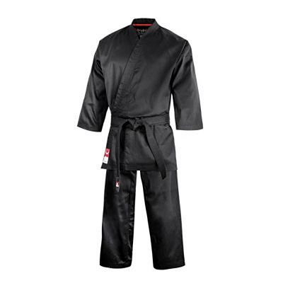FUJIMAE Karate Gi Training Negro