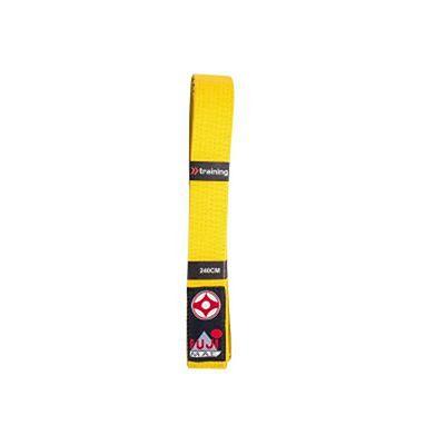 FUJIMAE Karate Kyokushin Belt Yellow