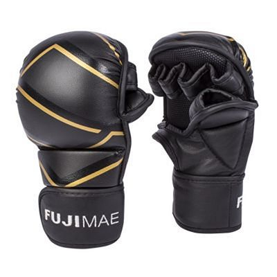 FUJIMAE MMA Sparring Gloves Black