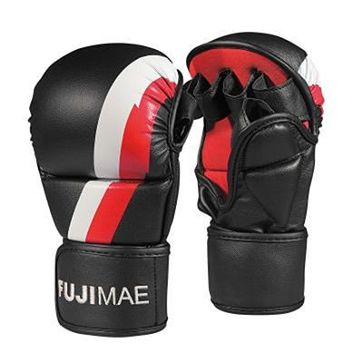 FUJIMAE MMA Sparring Gloves Black-Red