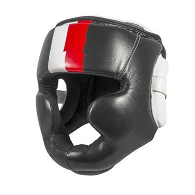 FUJIMAE Pro Series Boxing Headgear Black-Red
