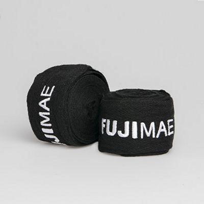 FUJIMAE Pro Series Non-Elastic Hand Wraps 450cm Black