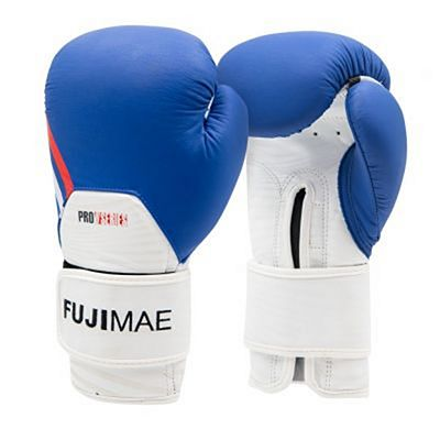 FUJIMAE ProSeries Leather Boxing Gloves 2.0 Blue-White