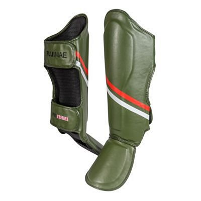FUJIMAE ProSeries Shin&Instep Guards Green