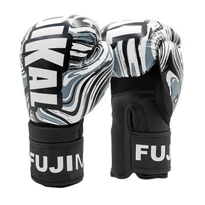 FUJIMAE Radikal 3.0 Boxing Gloves White-Black