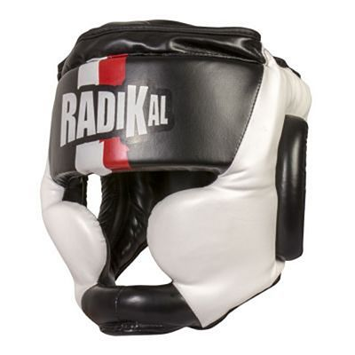 FUJIMAE Radikal Boxing Head Guard Black-White