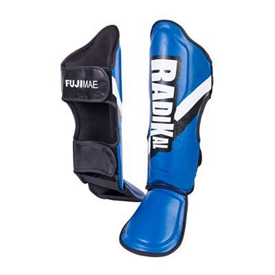 FUJIMAE Radikal Shin&Instep Guards Blue