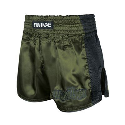 FUJIMAE Shorts Muay Thai Training Verde