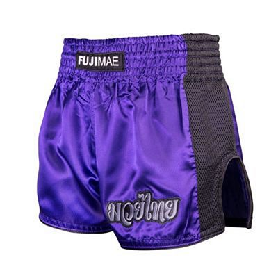 FUJIMAE Shorts Muay Thai Training Viola