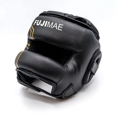 FUJIMAE Sparring Iron Bar Head Guard Svart