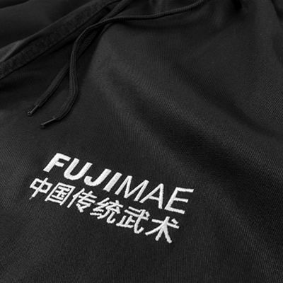 FUJIMAE Training Kung Fu Pants Black