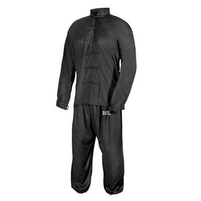 FUJIMAE Training Tai Chi Uniform Noir