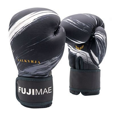 FUJIMAE Valkyrja Boxing Gloves Black-White