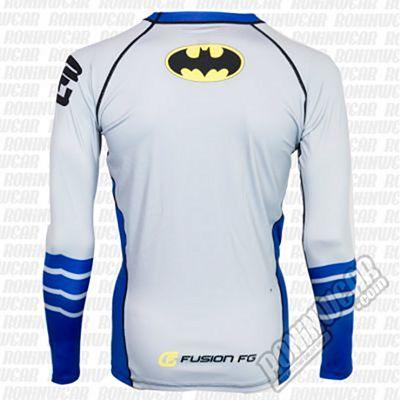 Fusion FG Batman Silver Age Logo Rashguard Grey