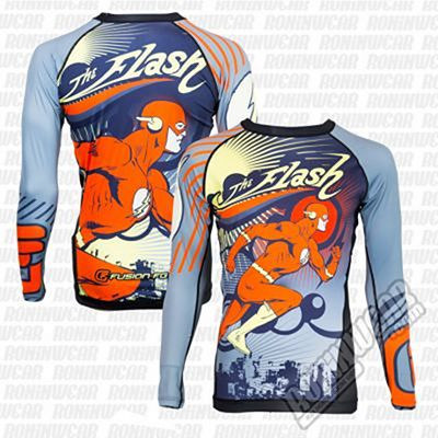 Fusion FG Flash Running Man Rashguard Gris