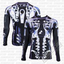 Fusion FG Terminator 2 Endoskeleton Rashguard Black