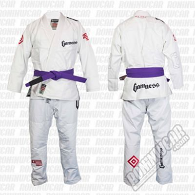Gameness G0801 Elite Gi Blanco