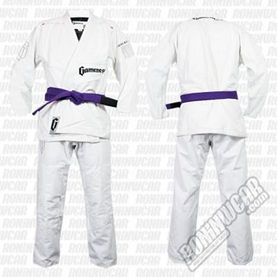 Gameness G1102 Feather Gi Blanco