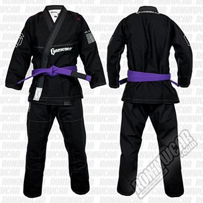 Gameness G1122 Feather Gi Negro