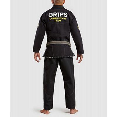 Gr1ps Armadura 2.0 Competition Jiu Jitsu Kimono Black