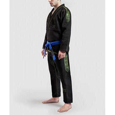 Gr1ps Classic Jiu Jitsu Gi Preto-Verde