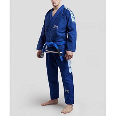 Gr1ps Classic Jiu Jitsu Gi Blå-Vit