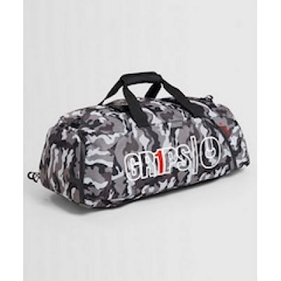 Gr1ps Duffel Backpack 2.0 Night Camo Grigio-Bianco