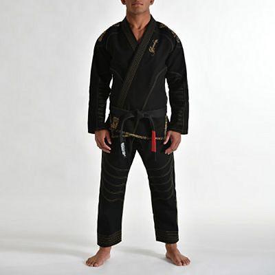 Gr1ps Kimono BJJ Armadura Negro