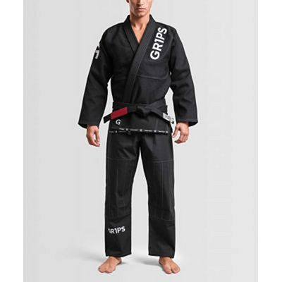 Gr1ps Primero Competition BJJ Gi Svart