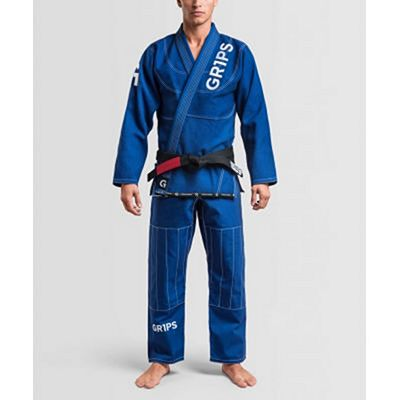 Gr1ps Primero Competition BJJ Gi Blu