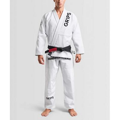 Gr1ps Primero Competition BJJ Gi Bianco