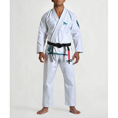 Gr1ps Superlight BJJ Kimono Blanco