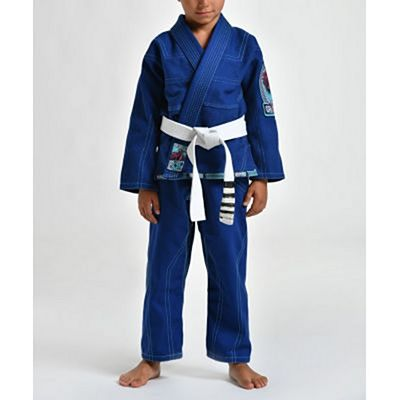 Gr1ps Triple J Kid BJJ Gi Blue