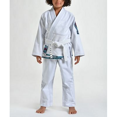 Gr1ps Triple J Kid BJJ Gi Bianco