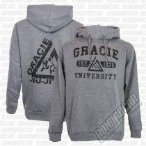 Gracie Apparel Hoodie University Szürke