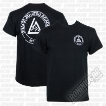 Gracie Apparel T-shirt Academy Fekete