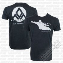 Gracie Apparel T-shirt Alavanca Flight Gris