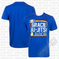 Gracie Apparel T-shirt Retro Rio Azul